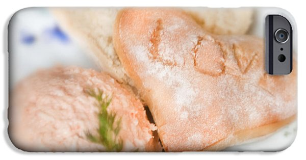 Commercial Photography iPhone Cases - Valentines Breakfast Love iPhone Case by Iris Richardson