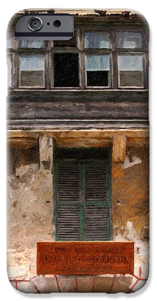 Balcony Pastels iPhone Cases - Valetta windows iPhone Case by Jon Delorme
