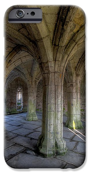 Valle Crucis Chapter House  iPhone Case by Adrian Evans