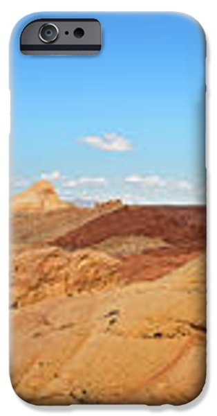 Valley of Fire pano iPhone Case by Jane Rix