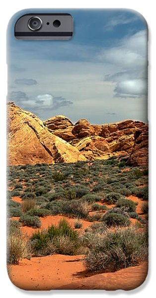 Valley Of Fire iPhone Case by Robert Bales