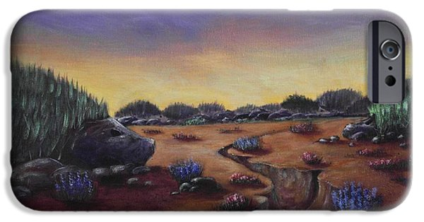 Rocks iPhone Cases - Valley of the Hedgehogs iPhone Case by Anastasiya Malakhova