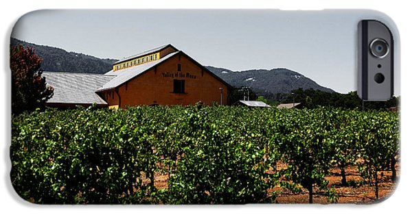 Valley Of The Moon iPhone Cases - Valley of The Moon Sonoma California 5D24485 v2 iPhone Case by Wingsdomain Art and Photography