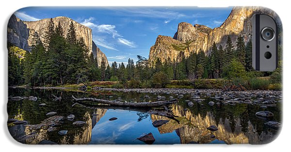 River View iPhone Cases - Valley View I iPhone Case by Peter Tellone