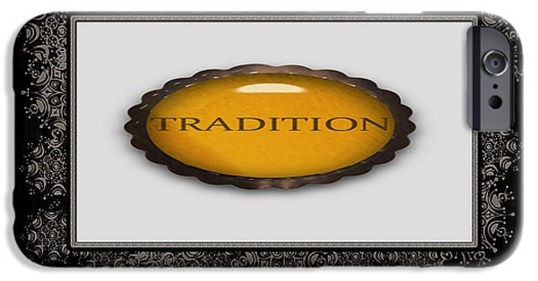 Multimedia iPhone Cases - Value Tradition iPhone Case by Tina M Wenger