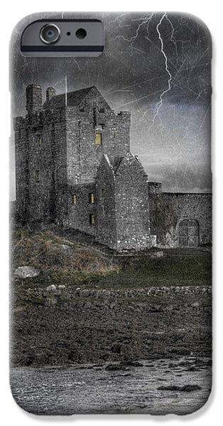 Vampire Castle iPhone Case by Juli Scalzi