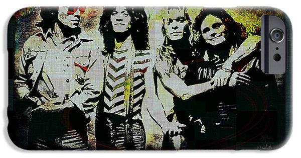 Recently Sold -  - Red Rock iPhone Cases - Van Halen - Aint Talkin Bout Love iPhone Case by Absinthe Art By Michelle LeAnn Scott