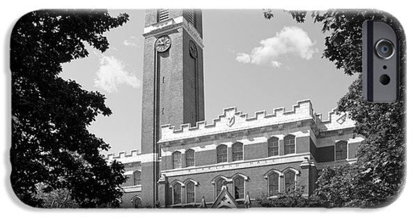 Gore iPhone Cases - Vanderbilt University Kirkland Hall iPhone Case by University Icons