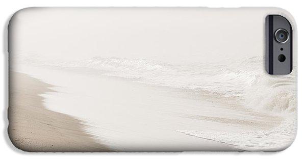 Beach Decor iPhone Cases - Vanishing iPhone Case by Ana V  Ramirez