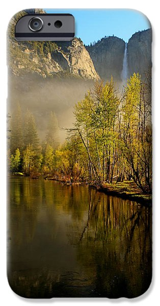 California Tourist Spots iPhone Cases - Vanishing Mist iPhone Case by Duncan Selby
