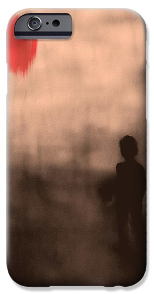 Exploring Paintings iPhone Cases - Vanishing Sun iPhone Case by Bob Orsillo