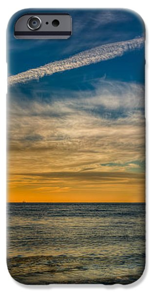 Vapor Trail iPhone Case by Adrian Evans