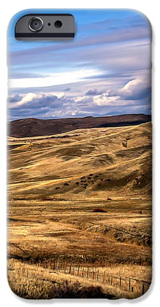 Vast View of the Rolling Hills iPhone Case by Robert Bales
