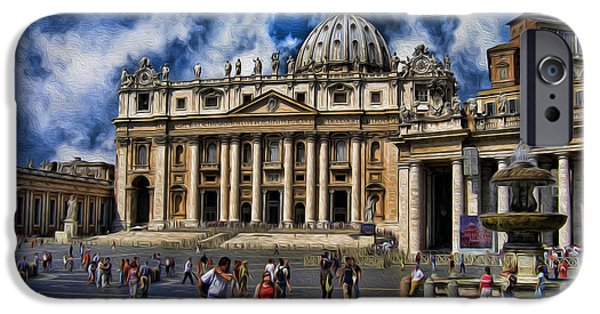Pope John Paul Ii iPhone Cases - Vatican City - The Bishop of Romes Home iPhone Case by Lee Dos Santos