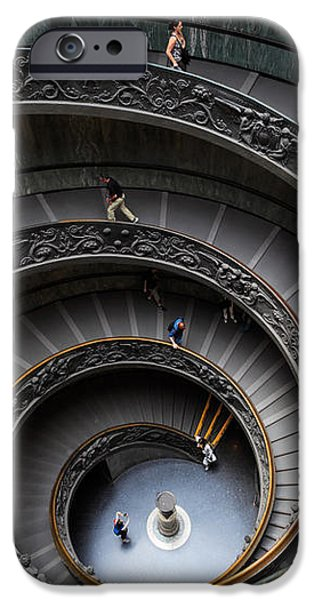 Vatican Spiral Staircase iPhone Case by Inge Johnsson