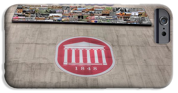 Sec iPhone Cases - Vaught Hemmingway Stadium iPhone Case by JC Findley