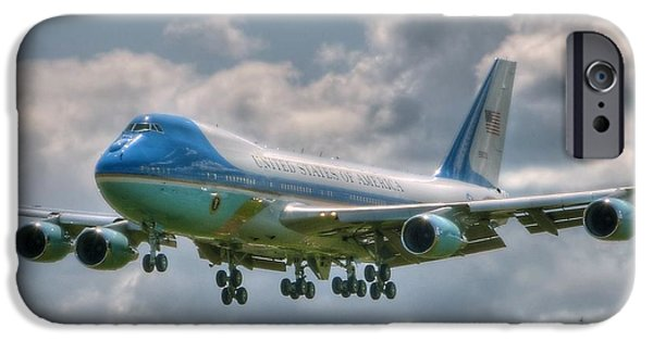 Recently Sold -  - President iPhone Cases - VC25 - Air Force One  iPhone Case by Jeff Cook