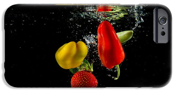 Dunk iPhone Cases - Vegetable Soup for the Soul iPhone Case by Rene Triay Photography