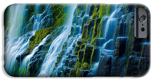 Veiled iPhone Cases - Veiled Wall iPhone Case by Inge Johnsson
