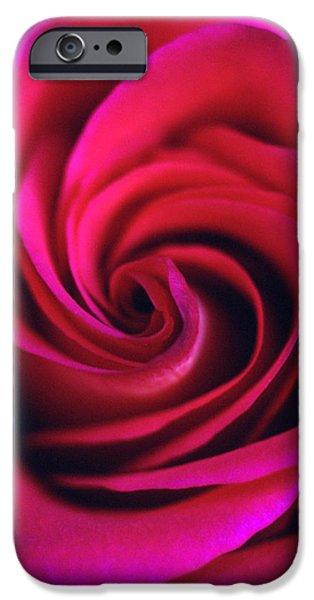 Velvet Rose iPhone Case by Kathy Yates