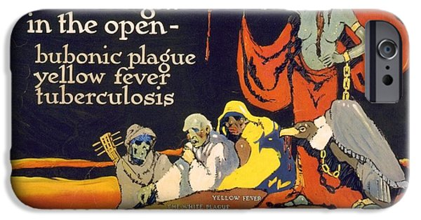Wwi iPhone Cases - Venereal Disease Poster (c1918) iPhone Case by Library Of Congress