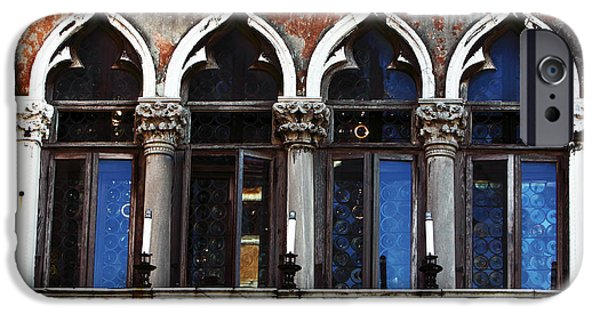 Venetian Doors iPhone Cases - Venetian Arches iPhone Case by John Rizzuto