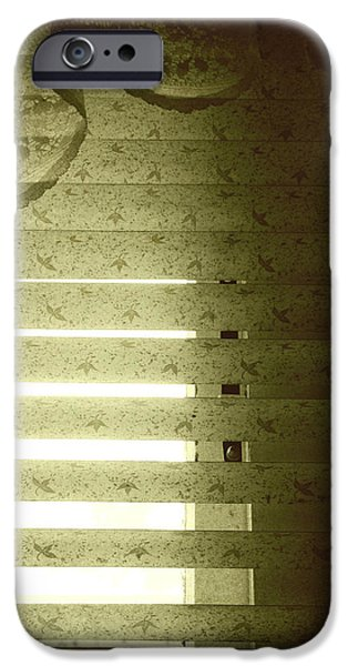 Venetian blinds iPhone Case by Les Cunliffe