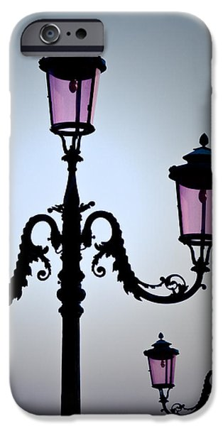 Venetian Lamps iPhone Case by Dave Bowman