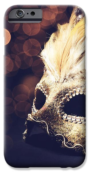 Venetian Mask iPhone Case by Jelena Jovanovic