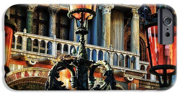 Venetian Balcony iPhone Cases - Venetian Potpourri  iPhone Case by Connie Handscomb