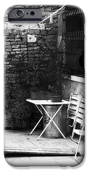 Venetian Street Scene iPhone Case by John Rizzuto