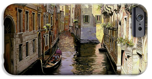 Venice iPhone Cases - Venezia Chiara iPhone Case by Guido Borelli