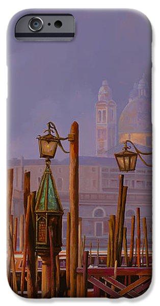 venezia e la nebbia iPhone Case by Guido Borelli