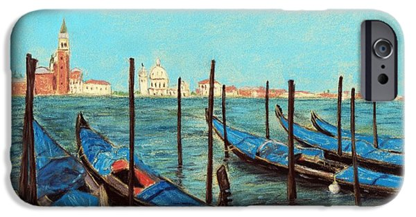Venice iPhone Cases - Venice iPhone Case by Anastasiya Malakhova