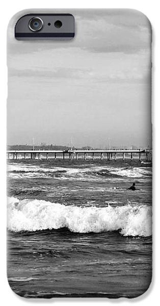 Venice Beach Waves III iPhone Case by John Rizzuto
