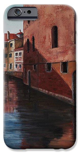 Venice Canal iPhone Case by Darice Machel McGuire