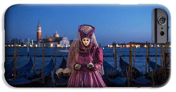 Venice iPhone Cases - Venice carnival 15 V iPhone Case by Yuri Santin