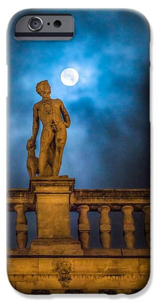 Statue iPhone Cases - Venice iPhone Case by Cory Dewald