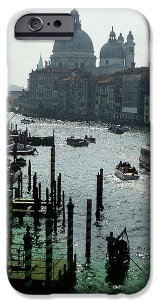 History Channel iPhone Cases - Venice Grand Canale Italy Summer iPhone Case by Irina Sztukowski
