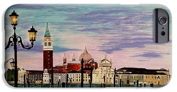 Fabulous Gifts iPhone Cases - Venice  Italy by Jasna Gopic iPhone Case by Jasna Gopic