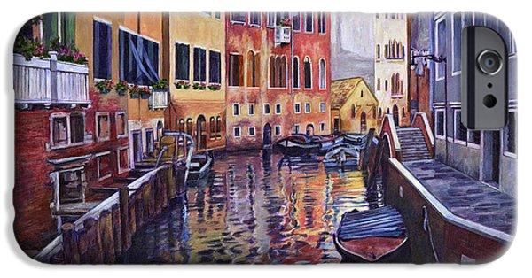 Italian Landscape iPhone Cases - Venice iPhone Case by Douglas Simonson