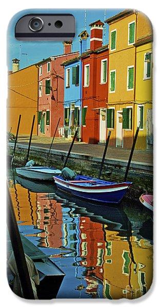 Facade iPhone Cases - Venice reflections 3 iPhone Case by Danilo Piccioni