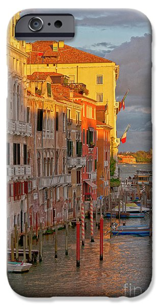 Venice romantic evening iPhone Case by Heiko Koehrer-Wagner