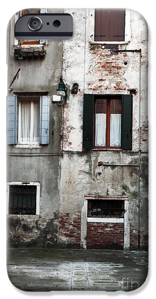 Venetian Doors iPhone Cases - Venice Style iPhone Case by John Rizzuto