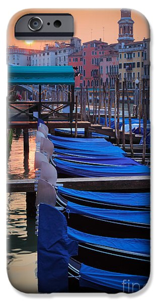 Recently Sold -  - Buildings iPhone Cases - Venice Sunrise iPhone Case by Inge Johnsson