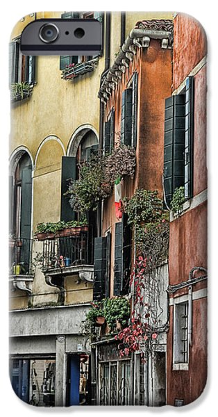Artistic Photography iPhone Cases - Venice V iPhone Case by Tom Prendergast