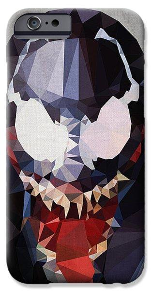 Best Digital Art iPhone Cases - Venom iPhone Case by Daniel Hapi