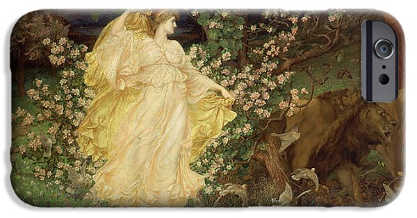 William Blake iPhone Cases - Venus and Anchises iPhone Case by William Blake Richmond