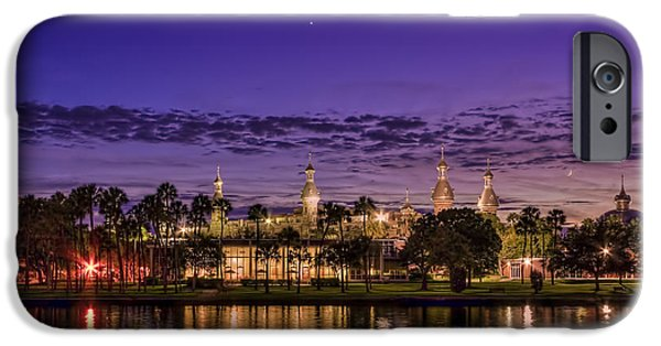 Clear iPhone Cases - Venus Over the Minarets iPhone Case by Marvin Spates