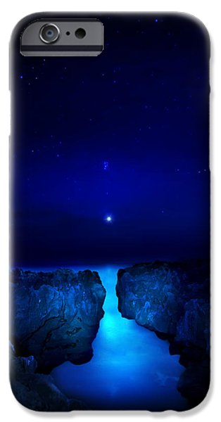 Moonscape iPhone Cases - Venus Rising iPhone Case by Mark Andrew Thomas